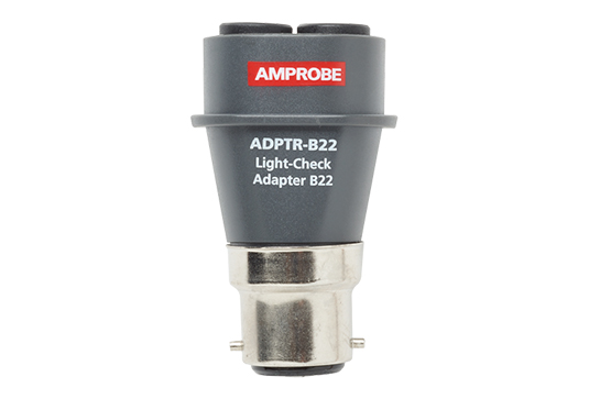 Amprobe B22 Light Check Adapter