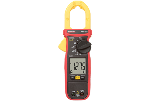 AMP-220 600A AC/DC TRMS Clamp Meter