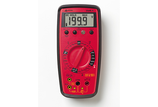 Amprobe 30XR-A Auto Ranging Digital Multimeter with VolTect trade, Non-Contact Voltage Detection
