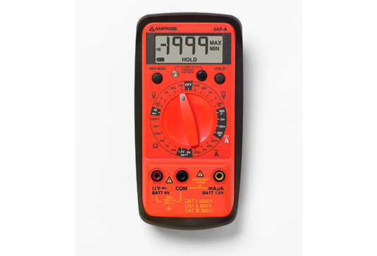 Amprobe 5XP-A AC/DC Compact Digital Multimeter with VolTect trade