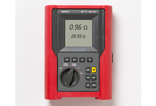 Amprobe GP-2 GEOTEST Ground Resistance Resistivity Tester