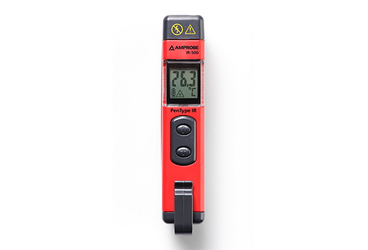 Amprobe IR-500 Infrared Thermometer, Voltage Detector and Flashlight