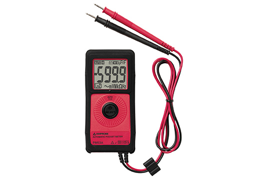 Amprobe PM53A Pocket Digital Multimeter with VolTect™ Non-Contact Voltage Detection