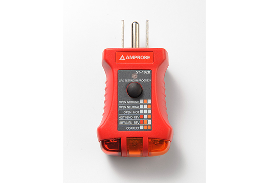Amprobe ST102A Socket Tester with GFCI