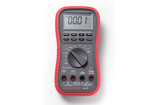 Amprobe AM-270 True-rms Industrial Multimeter with Temperature