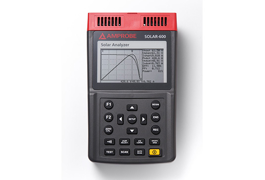 Amprobe SOLAR-600 Solar Power Analyzer