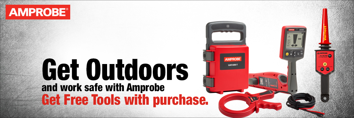 Get Outdoors with Amprobe Promotion